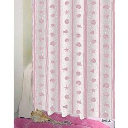 Zasłona prysznicowa Bisk PEVA SHELL 03808