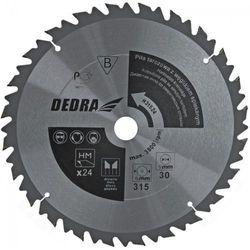 Tarcza do cięcia DEDRA HL31524 315 x 30 mm do drewna z ogranicznikiem posuwu HM z kategorii tarcze do cięcia
