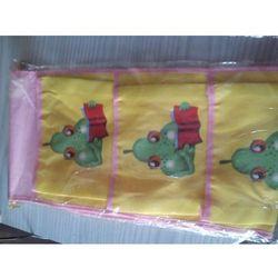 WISZĄCE KIESZONKI ORGANIZER na zabawki żółta