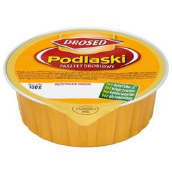 DROSED 100g Pasztet Podlaski z kurcząt - produkt z kategorii- Konserwy i pasztety mięsne