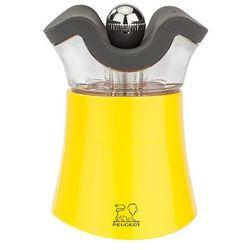 Młynek do pieprzu z solniczką 80 mm, żółty | , pep's marki Peugeot