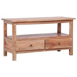 Vidaxl szafka pod tv, 90 x 40 x 50 cm, lite drewno z odzysku (8719883684154)