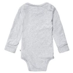 Müsli by GREEN COTTON Body pale grey marl, towar z kategorii: Body niemowlęce