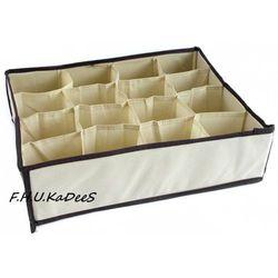 Organizer do szuflady na bieliznę z 16 przegródkami - sprawdź w KaDeeS