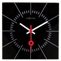 Zegar ścienny Stazione czarny (8717713015666)