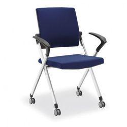 Krzesło konferencyjne flexim, niebieskie marki B2b partner