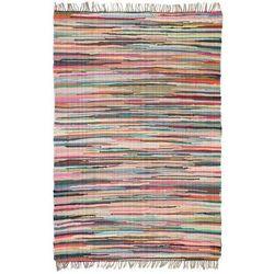 Ręcznie tkany dywan Chindi, bawełna, 200x290 cm, kolorowy