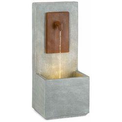 Blumfeldt Milos, fontanna, LED, do użytku wewnątrz i na zewnątrz, kabel o długości 5 m, cement, szara (4060656230271)