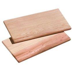 Küchenprofi smoky cedrowe deski 2 szt. 30x15 cm (4007371053525)