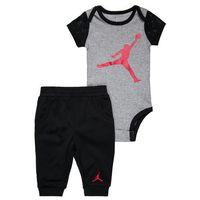 Jordan JOGGER PANT AND CREEPER SET Body black, kolor czarny
