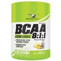 Sport definition  bcaa 8:1:1 - 400g - green apple raspberry (5906660497462)