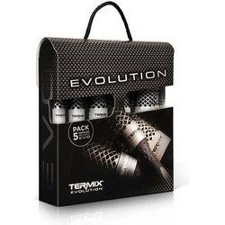Termix Evolution Basic zestaw 5 szczotek do włosów normalnych z kategorii kosmetyki do włosów