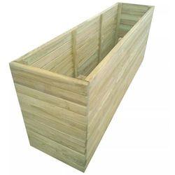 Garden Donica z impregnowanego drewna sosnowego, 200x50x77 cm
