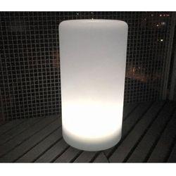 Wodoodporna kolumna lampa solarna ledowa z funkcją multikoloru do ogrodu (45 cm) marki Spot light