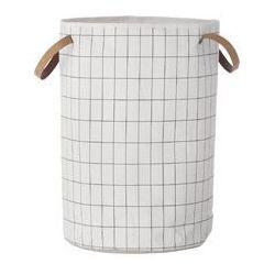 Ferm living Kosz na pranie grid, kategoria: kosze na pranie