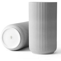 Wazon porcelanowy 38 cm, jasny szary - Lyngby Porcelain, 200826
