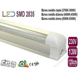 ŚWIETLÓWKA LED CLEAR w oprawie T8 13W 120cm zimna ze sklepu ledmax.sklep.pl