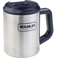 Kubek termiczny Stanley 10-01701-002, Pojemność: 473 ml, 345 g, Kolor: stali szlachetnej, granatowy, kolor g