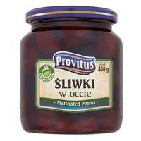 Śliwki w occie 480 g  marki Provitus