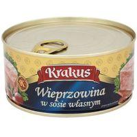 KRAKUS 300g Wieprzowina w sosie własnym Konserwa | DARMOWA DOSTAWA OD 150 ZŁ! - produkt z kategorii- Konserw