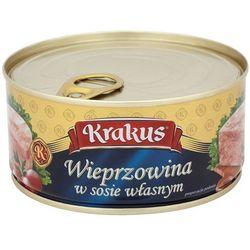 KRAKUS 300g Wieprzowina w sosie własnym Konserwa - produkt z kategorii- Konserwy i przetwory rybne