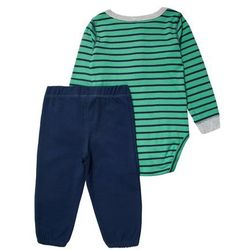 Carter's SET Body green z kategorii body niemowlęce