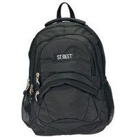 St.reet plecak szkolny bp-05 czarny 609763 wyprodukowany przez St. majewski