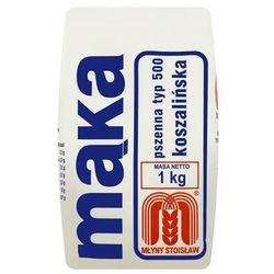 Młyny Stoisław Mąka pszenna koszalińska typ 500 1 kg, towar z kategorii: Mąki