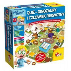 maly geniusz, quiz - dinozaury i czlowiek pierwotny marki Liscianigiochi