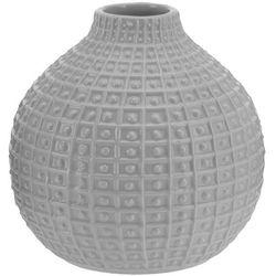 Ceramiczny wazon na kwiaty, dekoracje - okrągły, Ø 18 cm (5902891243212)