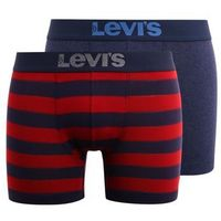 Levi's® RUGBY STRIPE BOXER BRIEF 2 PACK Panty red/navy, S-XL