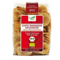 Bio planet : chipsy bananowe niesłodzone bio - 150 g