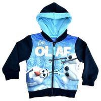 Ciepła bluza z bałwanem Olafem z bajki Frozen- Kraina Lodu - Kolorowy ||Granatowy, kolor wielokolorowy