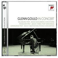 Glenn Gould In Concert: Salzburg 1959 Moscow 1957 Lenningrad 1957 (CD) - Glenn Gould