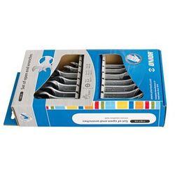 Zestaw kluczy płaskich dwustronnych w kartonowym pudełku 6-22/8 Unior (602844) 110/1CS