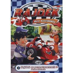 Rajdek mała wyścigówka 2 - w przestworzach dvd z kategorii Bajki