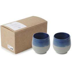 Kubek porcelanowy No.W poj. 2x200 ml niebieski