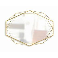 Vintage lustro Senmi - złote, Prisma_lustr_zlote