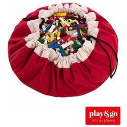 worek na zabawki/mata do zabawy - red marki Play&go