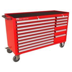 Fastservice Wózek warsztatowy mega z 16 szufladami pm-210-20