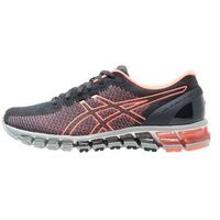 ASICS GELQUANTUM 360 2 Obuwie do biegania treningowe india ink/flash coral/midgrey