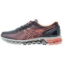 ASICS GELQUANTUM 360 2 Obuwie do biegania treningowe india ink/flash coral/midgrey (buty do biegania)