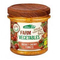 Pasta warzywna z pomidorami Cherry i Rukolą BIO 135 g - ALLOS