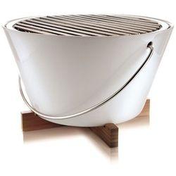 Eva Solo - Grill stołowy porcelanowy 30 cm - biały - produkt z kategorii- Grille