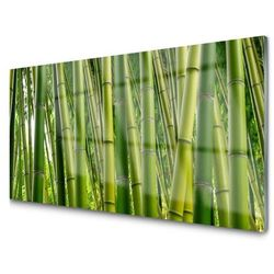 Obraz Szklany Bambusowy Las Pędy Bambusa