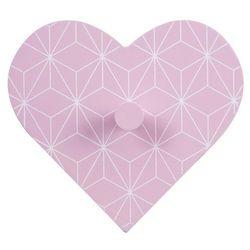 Atmosphera créateur d'intérieur Wieszak na ubrania heart, kolor różowy (5902973406597)