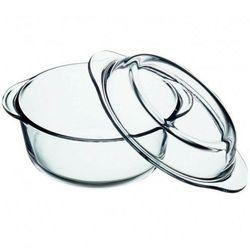 Naczynie żaroodporne okrągłe z pokrywką Excellent 24 cm, 4 l AMBITION