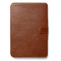 Etui z funkcją podstawki Zenus Masstige Lettering Diary - brązowe - iPad Mini Retina - sprawdź w wybranym sklepie