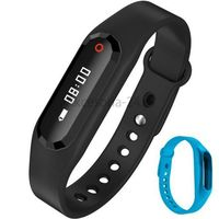 Niebieski smband opaska fitness smartwatch z pulsometrem marki Art