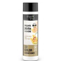 Organic Shop, balsam do włosów farbowanych, Złota Orchidea BDIH, 280 ml z kategorii Odżywianie włosów